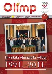 OLIMP 39 - lipanj 2011. - Hrvatski Olimpijski Odbor