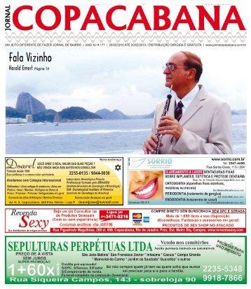 edição 177 impresso pdf. - Jornal Copacabana