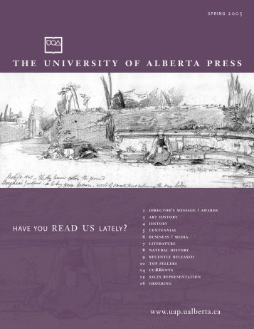 to p sellers - the University of Alberta Press