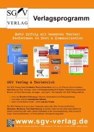 SGV Verlag Programm 2015