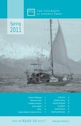Spring - the University of Alberta Press