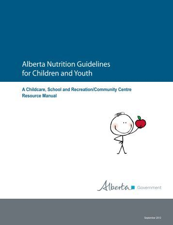 government guidelines on food and nutrition for children These agreements assure that meals, milk and/or snacks served meet federal nutrition guidelines child and adult care food program the child and adult care food program (cacfp) is a federally-funded united states department of agriculture program administered by the office for child nutrition.
