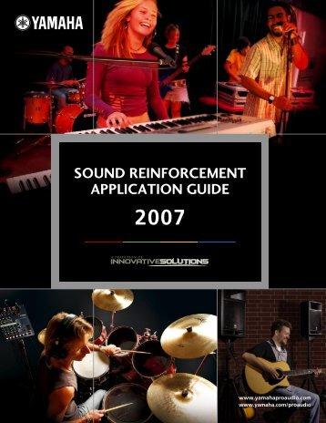 Live Sound Guide - Yamaha - B&H Photo Video