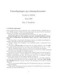 Projektbeskrivelse - Institut for Matematik og Datalogi