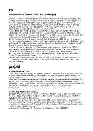 CV projekt - UiD