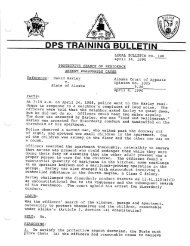 LEGAL BULLETIN NO. 140 April 24, 1990 PROTECTIVE SEARCH ...