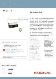 Download Datenblatt MS-1 - LW Systemtechnik GmbH