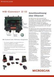 Download Datenblatt MS-Connect 210 - LW Systemtechnik GmbH