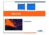 VX8 & VX9 - LW Systemtechnik GmbH