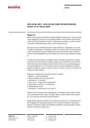 Råd om miljøet - hvad er den samfundsøkonomiske effekt af at følge ...