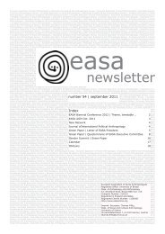 54 - European Association of Social Anthropologists