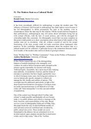 51. The Modern State as a Cultural Model - European Association of ...