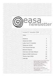 47 - European Association of Social Anthropologists