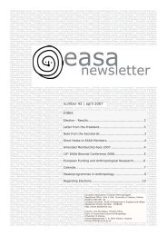 43 - European Association of Social Anthropologists