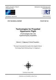 Technologies for Propelled Hypersonic Flight - Defense Technical ...
