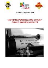 BANDO DI CONCORSO 2011 - Sos Impresa