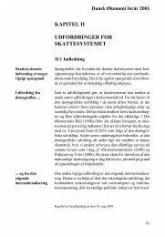 kapitel ii udfordringer for skattesystemet - De Økonomiske Råd