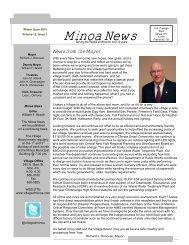 Minoa News Vol 12 Issue 1