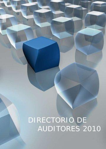 DIRECTORIO DE AUDITORES 2010 - Professional Letters