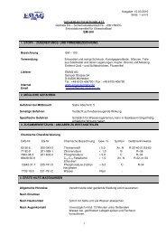 SICHERHEITSDATENBLATT EM-100 - Emag AG