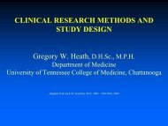 DESIGN OF EPIDEMIOLOGIC STUDIES Monday, October 27, 2003