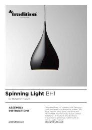 Spinning Light BH1 - Connox