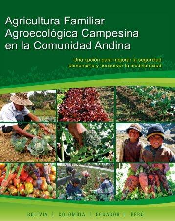 Agricultura Familiar Agroecológica Campesina en la Comunidad Andina