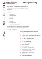 Montageanleitung - Seite 2