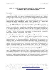 (SPS) Capacity Building Options - Standards and Trade ...