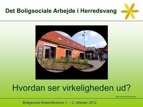 Tværfagligt samarbejde i Herredsvang, Århus - Boligsocialnet