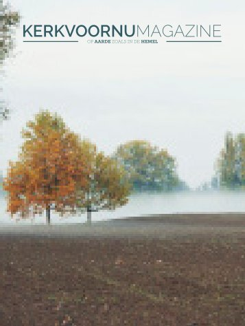 KerkvoorNu Magazine | Najaar 2014