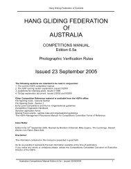 Photographic flight verification 6 - Hang Gliding Federation of Australia