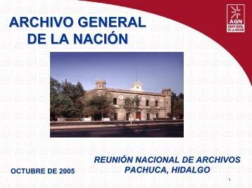 Cuadro de Clasificación Documental - Archivo General de la Nación