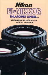 El-Nikkor enlarging
