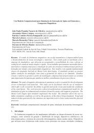 Um Modelo Computacional para Simulaç ˜ao de ... - GCG - UFJF