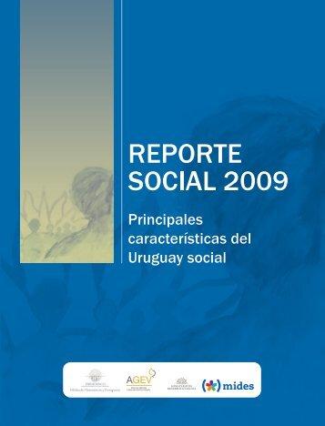 Reporte Social 2009 - Observatorio Social