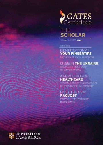 FINAL The Scholar magazine 2014