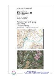 Beskrivelse av endringene, datert 04.11.08. - Bergen kommune