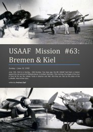 USAAF Mission #63: Bremen & Kiel - First Light