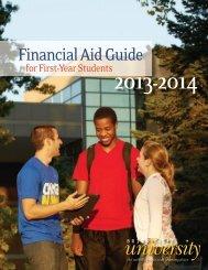 Financial Aid Guide 2013-2014 - Briar Cliff University