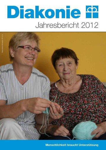 Jahresbericht 2012 - Diakonie Österreich