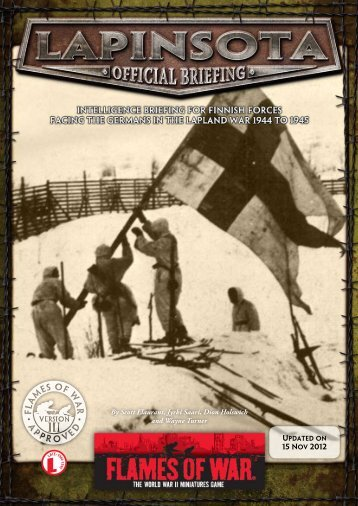 Finns in Lapin Sota (PDF)... - Flames of War