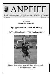 DJK SV Edling SpVgg Pittenhart 2