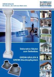 Folder GREWI Säulen