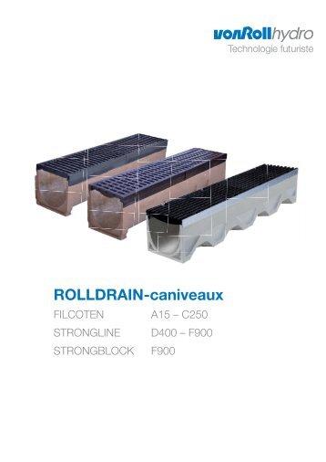 ROLLDRAIN-caniveaux - vonRoll hydro