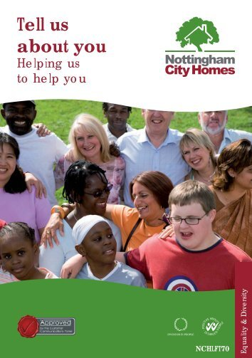 Tell us about you - Nottingham City Homes