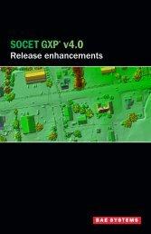Product Enhancements - BAE Systems GXP Geospatial eXploitation ...
