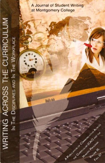 2007 - Communication Across the Curriculum (CAC)