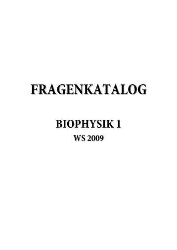 BIOPHYSIK 1 - Bio Salzburg - Index