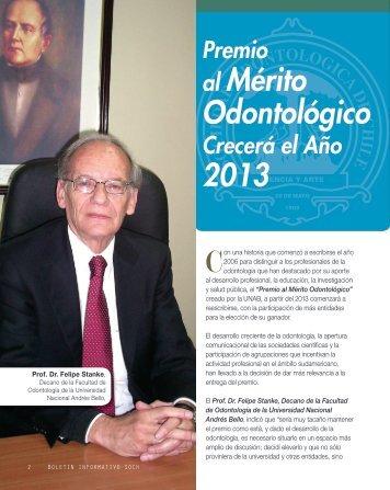 soch boletin final 2-2012.indd - Revista Dental de Chile